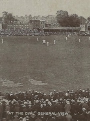 """UK SPORTS CRICKET c.1907 The Oval home ground of Surrey County Cricket Club since it was built in 1845 international cricket ground at Kennington London & Lambeth ENGLAND1 (UpNorth Memories - Donald (Don) Harrison) Tags: vintage antique postcard rppc """"don harrison"""" """"upnorth memories"""" upnorth memories upnorthmemories michigan history heritage travel tourism """"michigan roadside restaurants cafes motels hotels """"tourist stops"""" """"travel trailer parks"""" campgrounds cottages cabins """"roadside entertainment"""" """"natural wonders"""" attractions usa puremichigan"""