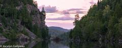 LA PASSERELLE (jocelyn.galipeau) Tags: paysage pont suspendu montagne lac fort aventure extrieur