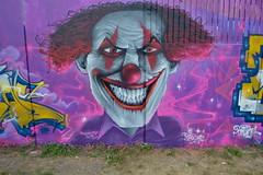 vitry (DeproTSC) Tags: depro paris tsc jamen torek reak 94 clown wild style fresque letters characters dark vitry graffiti spray art wall