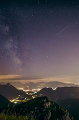 Voie lacte vue du Parmelan (Johan FREIMANN) Tags: nuit bivouac parmelan annecy hautesavoie poselongue voie lacte france montagne nikon d7000 14mm samyang lanscape night etoiles calme