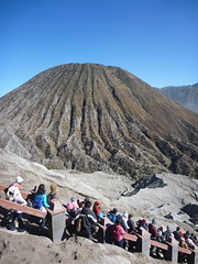 Volcano beside Mount Bromo (knittymarie) Tags: indonesia volcano mountbromo eastjava