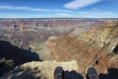 The canyon (danielahd) Tags: red arizona rock giant desert grandcanyon canyon ledge rim