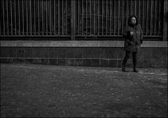 1A7_DSC3685 (dmitry_ryzhkov) Tags: life street city morning winter ladies portrait people urban blackandwhite bw woman white black reflection art public monochrome face closeup lady fence bench geotagged photography photo eyes women europe moments day break shot image photos russia moscow live candid smoke sony streetphotography streetportrait scene stranger moment smoker unposed citizen dmitry a7 candidportrait ryzhkov ilce7