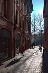 rue paul vidal (Sam Turner) Tags: france toulouse 2014 placesaintgeorges velviaesque olympusep1 ruepaulvidal