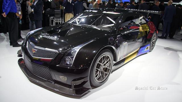 laautoshow generalmotors 2016cadillacatsvrgt3racecar
