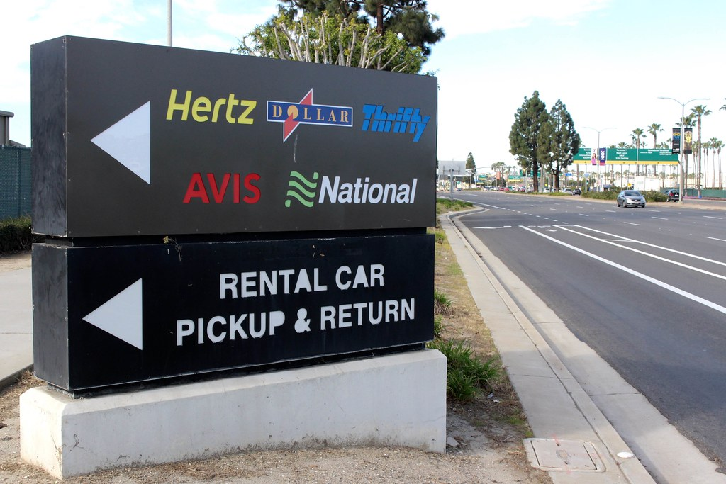Rent car las vegas return los angeles