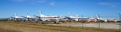 Airplane Boneyard (BOB WESTON) Tags: saab340 abilenetexas americaneagleairlines
