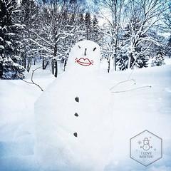 Snowman. | Schneemann.