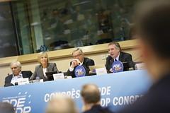 Luigi Cocilovo, Marielle de Sarnez, Jean-Claude Juncker & Franois Bayrou (PDE-EDP) Tags: logo fb marielle rond rutelli banderolle juncker bayrou sarnez cocilovo