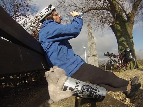 Adventure with Ringo #r2s #adventuremascotte #adventure #cycling
