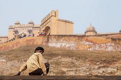 Indien (SpechtPhotodesign) Tags: india fort streetphotography indien burg upwards festung hinauf