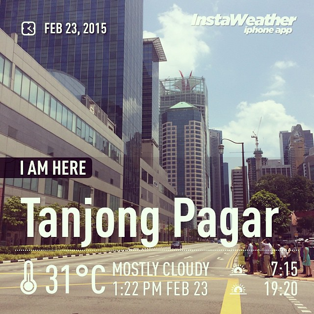 Made with @instaweatherpro Free App! #instaweather #instaweatherpro #weather #wx #tanjongpagar #singapore #day #sg