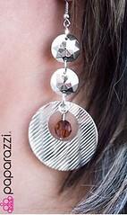 5th Avenue Brown Earrings K1 P5310-1