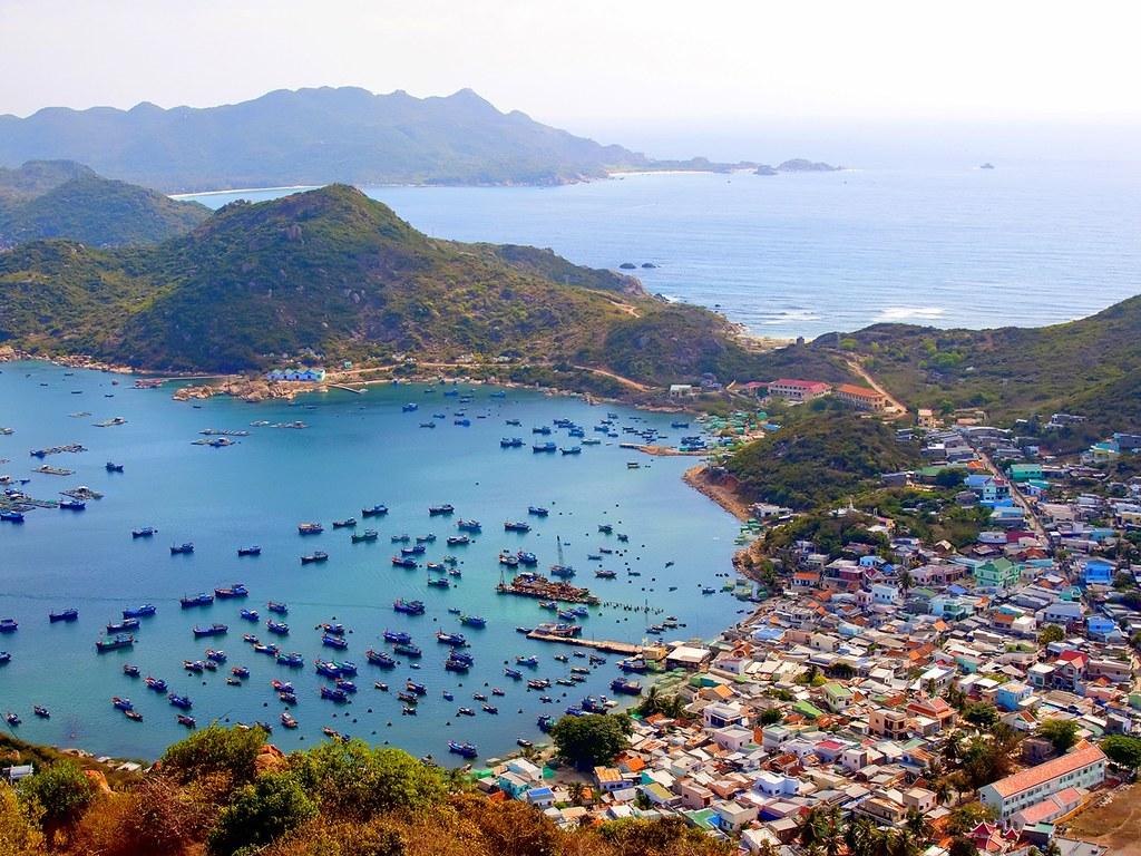 Đảo Bình Ba thanh bình