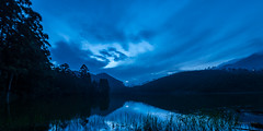Moonlit Mountains (Monojit Dey) Tags: blue moon lake mountains kerala shades moonlit rivers tones hillstation westernghats munnar echopoint idukki nikond600 nikon1424mmf28 monojitdey nallathanni kundaly madhurapuzha