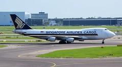 Singapore Airlines Cargo Boeing 747-412FSCD 9V-SFK (Mark 1991) Tags: amsterdam boeing schiphol ams 747 747400 singaporeairlines schipholairport amsterdamairport amsterdamschiphol amsterdamschipholairport singaporeairlinescargo 9vsfk