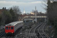 Tube / distant Shard #2 (stevekeiretsu) Tags: london tube shard ssc