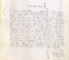 Salconduit del Rei Alfons V a Juan de                                Egipte Menor. Data a Saragossa, el 12 de març de 1425