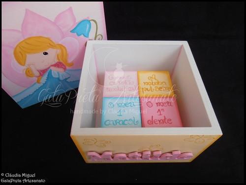"""Caixa de recordações de bebé """"Pequena Fada Babilune"""""""