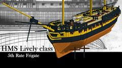 HMS Lively LDD (anders.thuesen) Tags: color english scale t denmark model war flickr ship lego plan nelson historic danish napoleon independence frigate 5th danmark anders skib dansk lively rate hms moc afol ldd napoleonic farve engelsk historisk thuesen mocpages uafhngighedskrigen