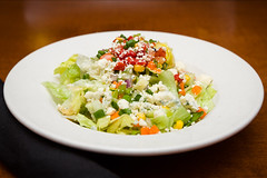 Chopped Salad (Tom Noe) Tags: food dinner lunch brunch montrose hudson copley salads fairlawn hudsons foodphotography tomnoe modernamerican hudsonsrestaurant jjaltomare kevinaltomare tomnoephotography