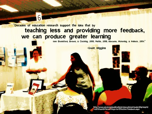 Educational Postcard:  Teach less, feedb by Ken Whytock, on Flickr