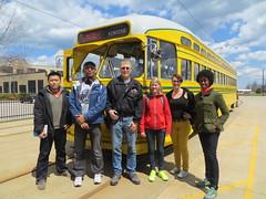 20140503 44 Kenosha Streetcar Shop Visitors (davidwilson1949) Tags: wisconsin kat transit streetcar kenosha pcc