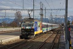 2015-01-08, SOB/CFF, Pfäffikon SZ (Fototak) Tags: train switzerland eisenbahn railway treno sob voralpenexpress re456 456092