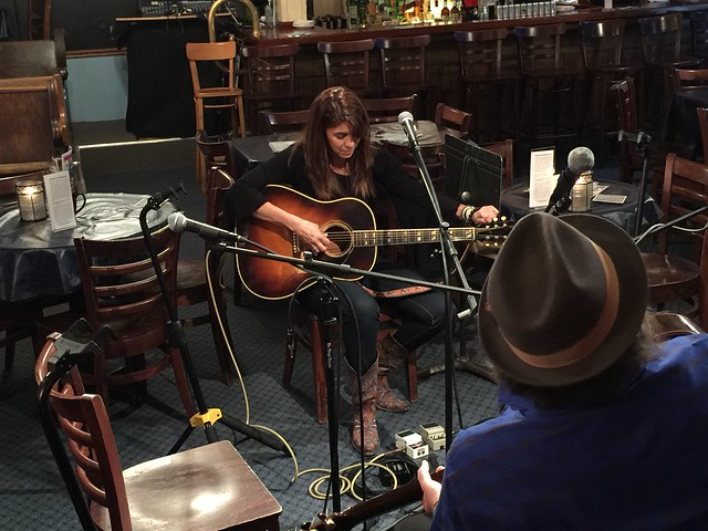 ME & DARRELL SCOTT @ BLUEBIRD CAFE' - NASHVILLE, TN