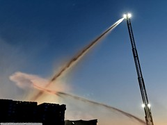 5 Alarm blaze guts San Jose warehouse (YFD) Tags: california usa canon fire action 911 sanjose firetruck sjfd emergency ems firedepartment eos7d