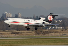 Cargo Jet C-FCJI (BC Photo OPS) Tags: yvr boeing727 cyvr cargojet cfgci