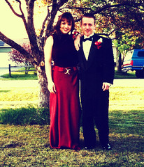 80's Prom: Dawn & Jesse (Hobbycorner) Tags: polaroid prom 1998 1980s