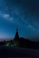 The Milky Way (Pond Pisut) Tags: longexposure sky nikon astrophotography milkyway d7000 astroscape