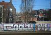 graffiti (wojofoto) Tags: amsterdam graffiti trackside wojofoto railway spoor spoorweg cool1 wolfgangjosten nederland netherland holland