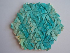 Trapezoid Stars - Joel Cooper (Monika Hankova) Tags: paper origami tessellation