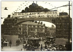 The Royal Visit to Preston. July 8, 1913. (Preston Digital Archive) Tags: hotel arms kings