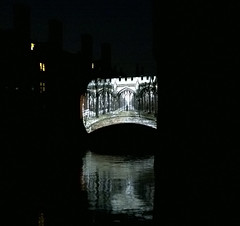 Bridge of Sighs 1 (peterhala) Tags: cambridge night projection stjohnscollege thethirdman orsonwells