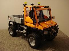 LEGO Technic Unimog U400 (8110) (nissanskyline) Tags: lego technic unimog 8110 u400