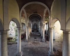(Subversive Photography) Tags: abandoned church architecture belgium decay arches altar urbanexploration derelict urbex danielbarter