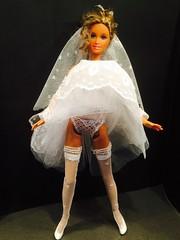 Marilyn Monroe look Barbie (Handmade Barbie Fashion) Tags: wedding fashion doll dolls dress handmade marilynmonroe madonna barbie custommade