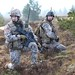 Latvian and Canadian soldiers participate in helicopter insertion and live fire training