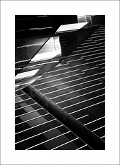 Channel (Mr sAg) Tags: barcelona windows light blackandwhite bw holiday abstract building glass lines architecture contrast mono spain geometry curves shapes gas shade catalunya channel architecturalabstract fenosa mrsag gasnaturalfenosa ©simonharrison2015 buildingsoverlapping