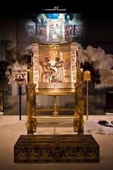 Throne (max.fontanelli) Tags: king treasure tomb egypt re tesoro tomba egitto oro tutankhamun pharaon golg faraone