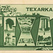 Greetings from Texarkana, Texas - Large Letter Postcard