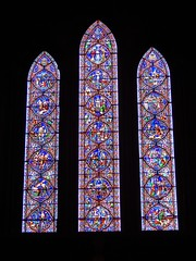 Stained glass window (BBuzz1) Tags: saintpatrickscathedral westsalemhighschool westsalemhighschoolfrench wshsfrench wshseurotrip dublin