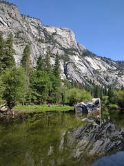 Mirror lake (huw-ogilvie) Tags: cliff lake rock mirror rockface yosemite