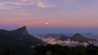 Moonrise @Vista Chinesa, #RiodeJaneiro, #Brazil