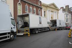 IMG_7107 - Dunkirk Film Set - Weymouth - 28.07.16 (Colin D Lee) Tags: christophernolan warnerbros studio hollywood movie film set dunkirk weymouth quay dorset worldwar2 filming trucks lorry