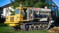 Bark Blower (Photons of Days Past) Tags: bark finn mulch blower spreader ef70300mmf456isusm canoneos6d
