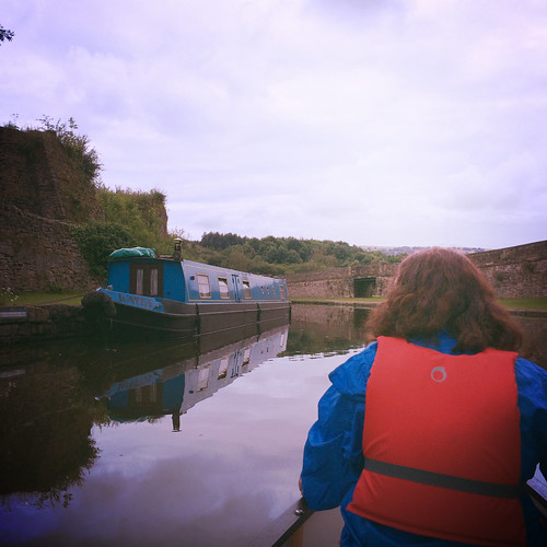 Paddling out of Bugsworth Basin 2